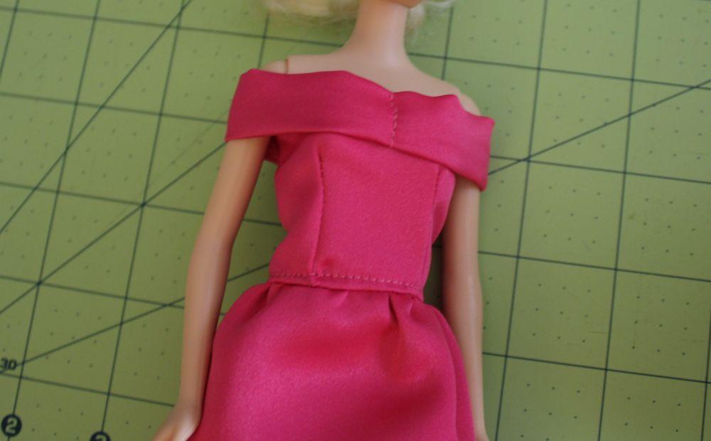 Шьём платья для барби своими руками