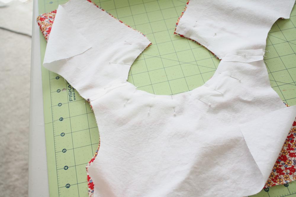 Сшить платье на подкладе от а до  430