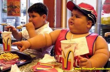 Bambini obesi in USA