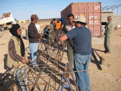 NUEVO PROYECTO CURSO DE CONSTRUCCION EN TIFARITI SAHARA LIBERADO