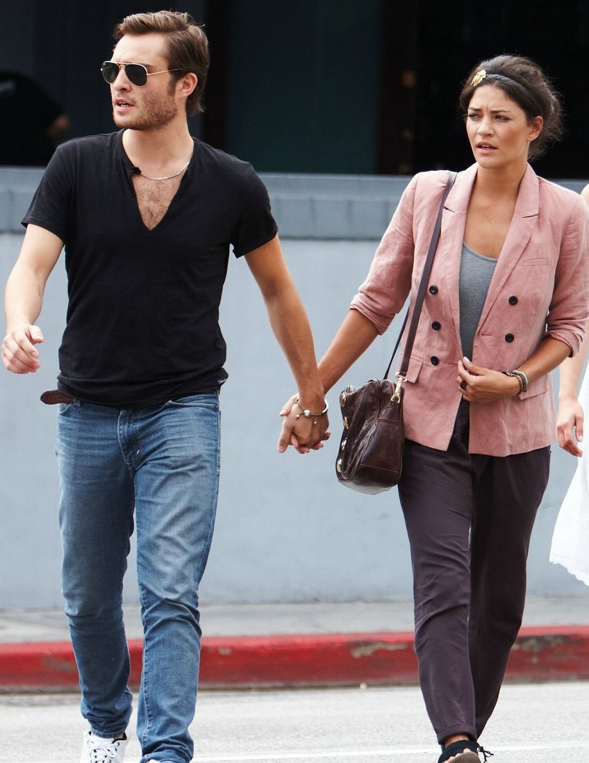 ed westwick and jessica szohr relationship with god