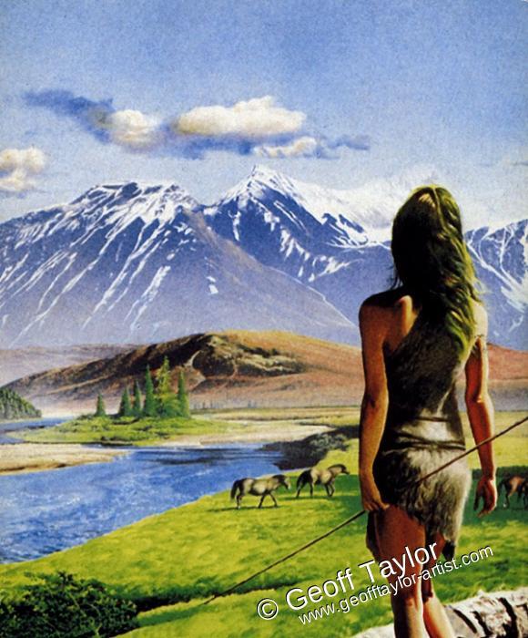 Book eater rese a el valle de los caballos de jean m auel - El valle de los caballos ...