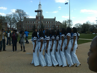 Zeta Phi Beta Sorority- Howard University Spring 2009
