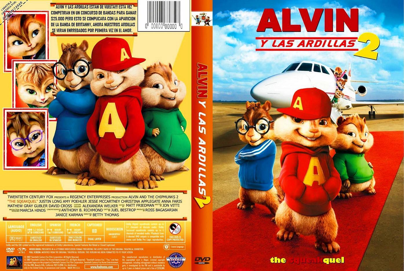 Cany alvin y las ardillas 2 for Alvin y las ardillas