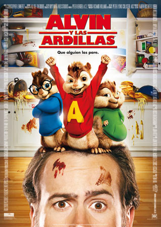 Alvin y las Ardillas (2007) Dvdrip Latino [familiar]