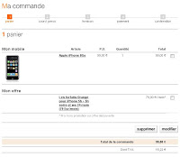 iPhone 99 euros chez orange