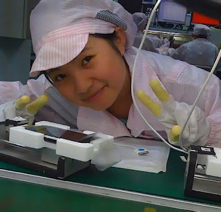 iphone girl foxconn usine iphone