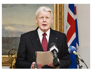 Presedintele Islandei vesteste o iminenta eruptie catastrofala