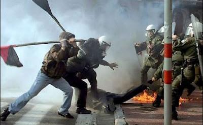 Miscare sindicala in Grecia