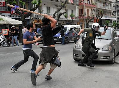 Realitatea despre gherilele urbane din Grecia