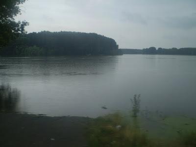 Dunarea - traversarea cu bacul braila smardan in 28 iunie 2010