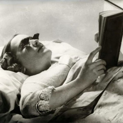 Glasses For Reading In Bed (England, 1936)