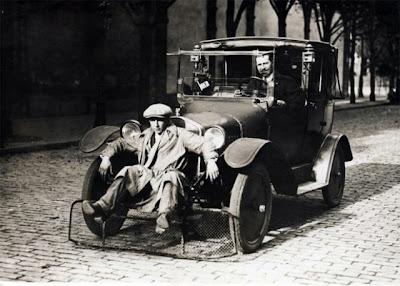 Car With Shovel For Pedestrians (Paris, 1924)