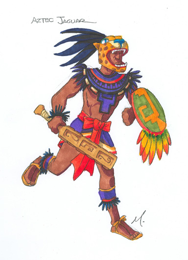 jaguar aztecs warriors