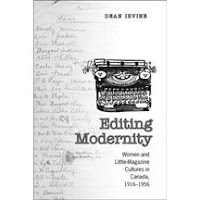 Editing Modernity by Dean Irvine