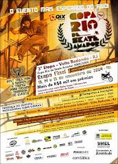 O Final da Copa Rio de Skate Amador 2009, rola entre os dias 13 a 15 de novembro e reinaugura