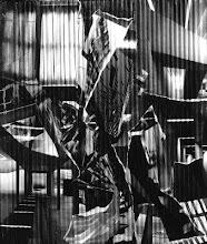 """Brigitte Barateau-Dumesnil - """"Eclats"""" 2002   -    collage 40 x 47 cm"""