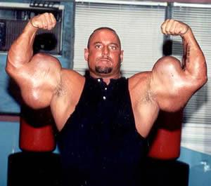 biceps World s biggest