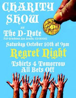 Concert Review&#8211;Regret Night at D-Note Oct. 10