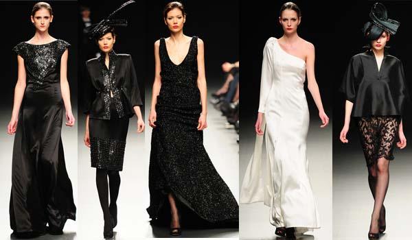 cef701fb5 Juana Martin quien presento su coleccion Otoño-Invierno 2010-2011 durante  el desfile de modas