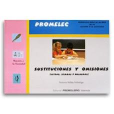 SUSTITUCIONES Y OMISIONES ( VALLÉS, A.)