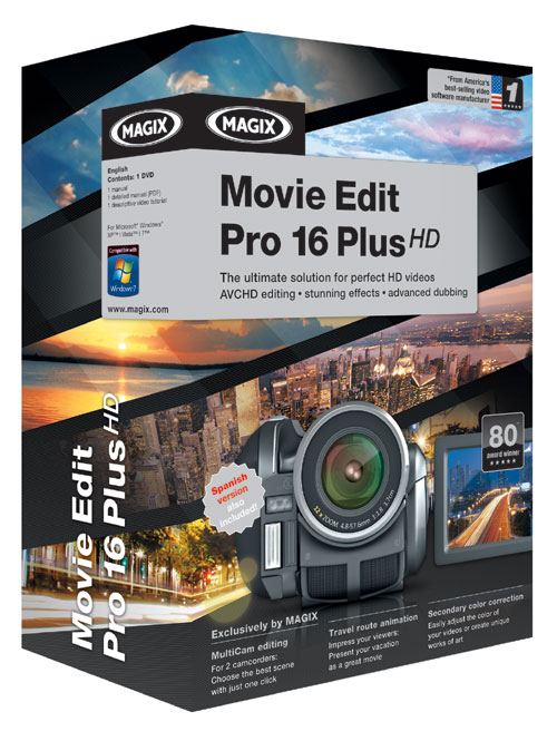 Magix Movie Edit Pro. MAGIX Movie Edit Pro 16 Plus