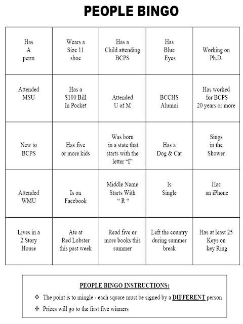 Design My Own Bingo Cards for Pinterest