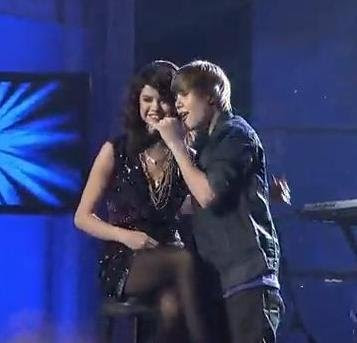 Justin Bieber and Selena Gomes