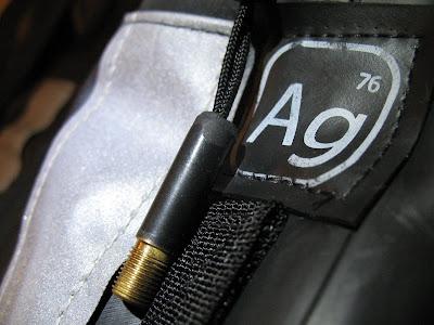 Alchemy Goods 'urban' bag close up