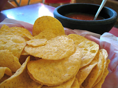 Melena's Taco Shop chips and salsa