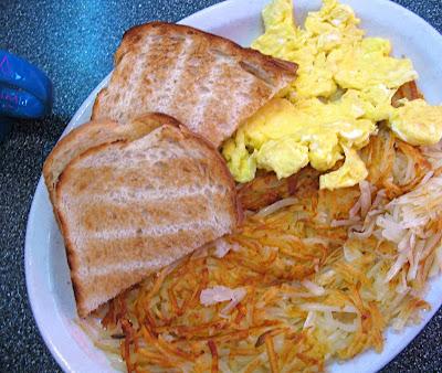 Twede's Cafe two egg breakfast