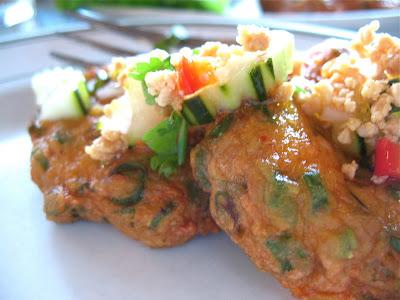 tod mun plah (fish cakes) at Tup Tim Thai