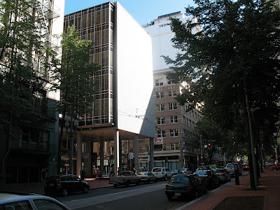 office building, downtown portland oregon