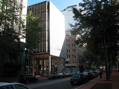 office building, downtown portland oregon