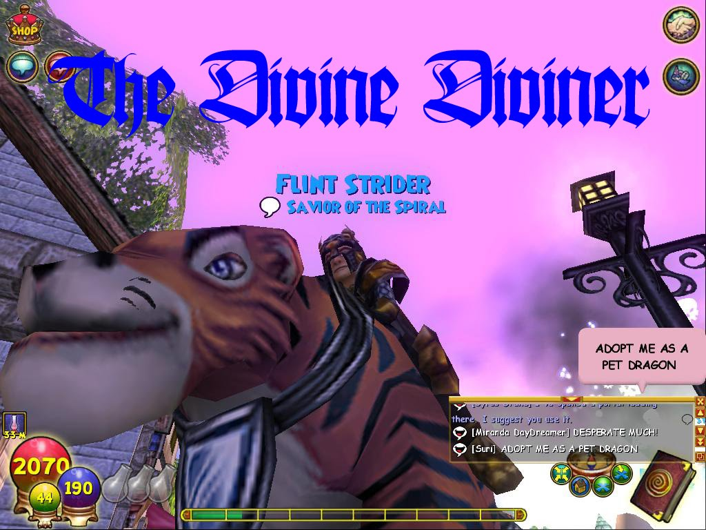 The Divine Diviner
