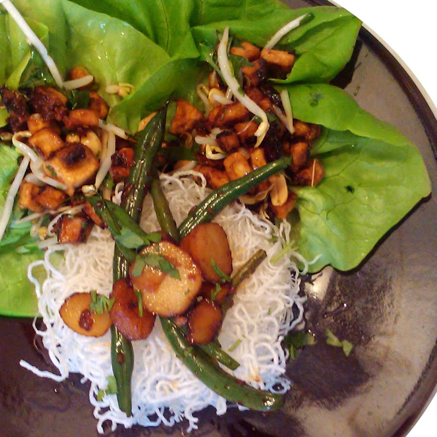 A Profound Hatred of Meat: Tofu Lettuce Cups, Hot & Spicy ...