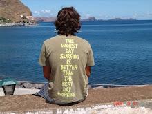 O mar é um mar de significados para mim.