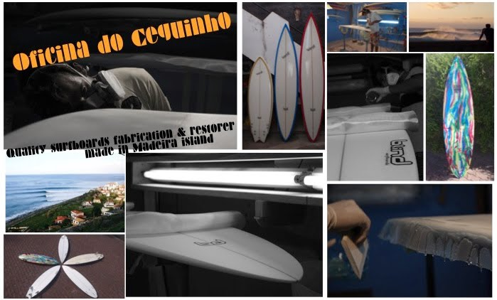 Surf Madeira island oficina do ceguinho reparação de pranchas de surf  windsurf surfcamp guide