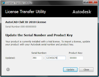 autocad 10 serial number and product key