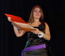 Ganadora de la voz del tango La Falda 2009