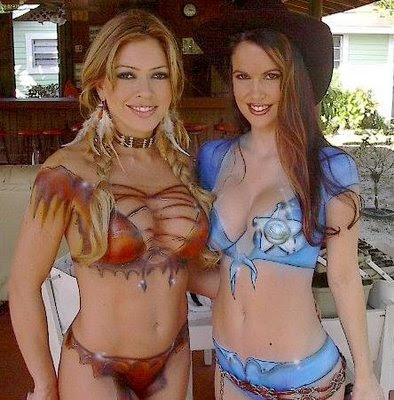 Sexy With Art Body Painting
