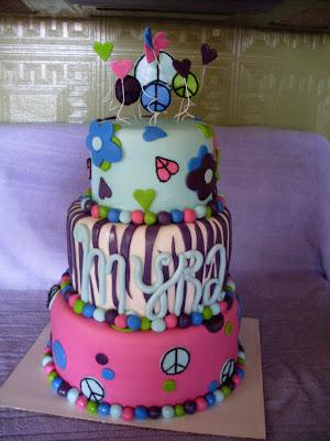 Cake Making Classes In Omr : Kaci s Cake Delight: Happy 9th Birthday, Myra!