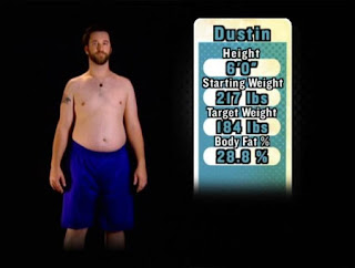 Celebrity Fit Club - Dustin Diamond doing Cletus and Da ...