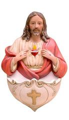 CORAZON DE JESUS CON PILETA