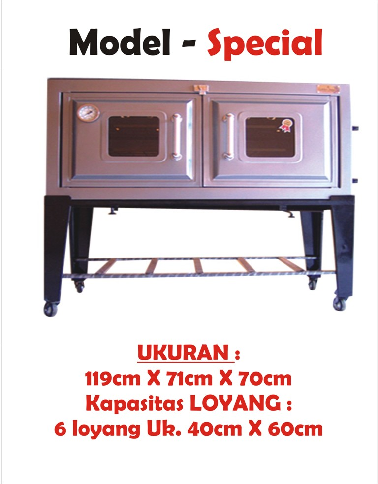 Oven Gas LPG STAR INDEX: Oven Gas Kue Star Index Indonesia