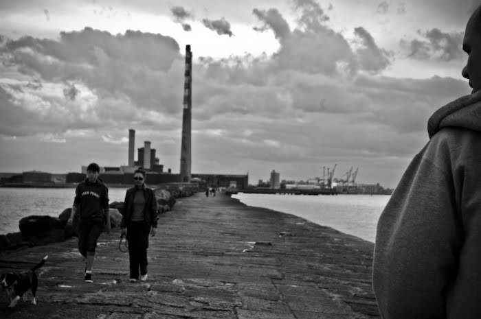 Spacer po Dzielni. Dublin