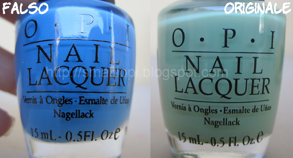 Cia Cia: OPI Fake vs Original
