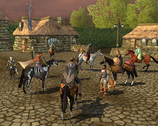 Horses are abundant in LOTRO Free-to-Play