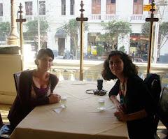 con Cata en Peru