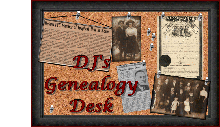 DJs Genealogy Desk...